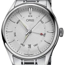 Oris Artelier Pointer Day Date Steel 40mm Silver