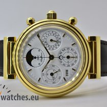 IWC Da Vinci Perpetual Calendar Gelbgold 39mm Weiß Keine Ziffern Deutschland, Iffezheim
