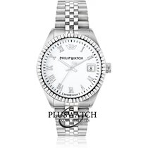 Philip Watch Caribe Steel 46mm White Roman numerals