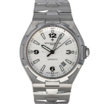 Vacheron Constantin Overseas pre-owned 42.5mm Silver Date Steel