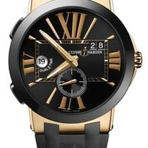 Ulysse Nardin Ceramic Automatic Black 43mm new Executive Dual Time