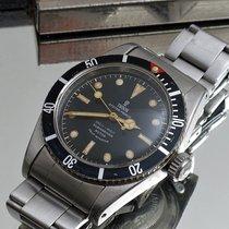 Tudor Submariner Steel 38mm Black
