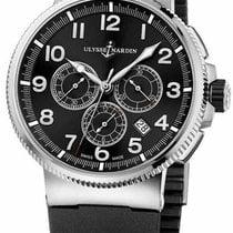 Ulysse Nardin Marine Chronograph new Automatic Chronograph Watch with original box 1503-150-3/62