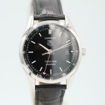 TAG Heuer Carrera Calibre 7 Steel 38.5mm Black United States of America, Florida, Sarasota