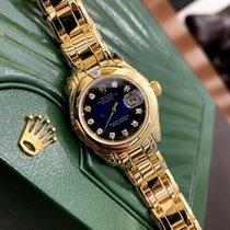 Rolex Lady-Datejust Pearlmaster Жёлтое золото 29mm Синий Россия, Санкт-Петербург
