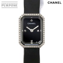 Chanel Première pre-owned 15mm Black Rubber