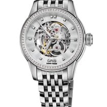 Oris Artelier Skeleton Diamonds Steel 31mm Steel Bracelet