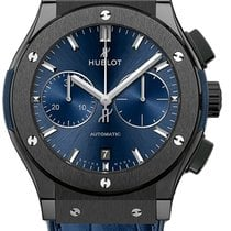 Hublot 521.cm.7170.lr Ceramic Blue Ceramic 2021 Classic Fusion Blue 45mm new United States of America, New York, Airmont