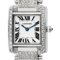 カルティエ (Cartier) Cartier Tank Francaise Custom Diamond Set...