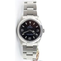 Rolex Explorer 114270 Stainless Steel Black Face Perfect...