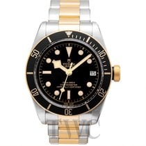 Tudor Heritage Black Bay S&G Black Steel/Yellow Gold 41mm...