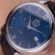 Omega De Ville Prestige Steel 39,5mm Blue Roman numerals