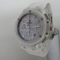 Hublot Big Bang Aspen White Ceramic 41mm - Full Set 2010