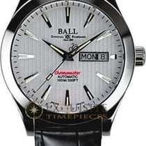 Ball Engineer II Chronometer Red Label Stahl 40mm Weiß