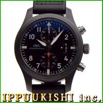 IWC インターナーショナルウォッチカンパニー パイロットウォッチ クロノグラフ トップガン IW388001