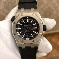 Audemars Piguet Royal Oak Offshore Diver Steel 42mm Black No numerals United Kingdom, Edinburgh