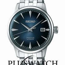Seiko SRPB41J1 Steel Presage 40,5mm new