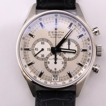 Zenith El Primero 36'000 VpH Steel 42mm Silver United States of America, Texas, Houston