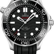 Omega Seamaster Diver 300 M Staal 42mm Zwart
