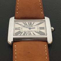 f5a3b637690 Cartier Tank Divan XL stainless steel