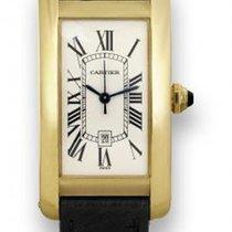 Cartier Tank Américaine gebraucht Gelbgold