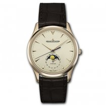 Jaeger-LeCoultre Master Ultra Thin Moon Rose gold 39mm Champagne United States of America, Florida, Miami