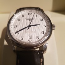 Longines Master Collection Steel 44mm Silver Arabic numerals United Kingdom, Little Chalfont
