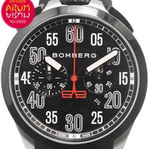 Bomberg Steel 44mm Quartz NS44CHSP.0098.3 pre-owned