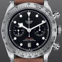 Tudor Black Bay Chrono Steel 41mm Black No numerals Canada, Victoria British Columbia
