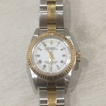 Rolex Oyster Perpetual Gold/Steel Champagne Roman numerals Singapore, Singapore