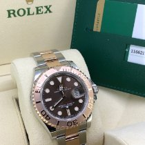 Rolex Yacht-Master 40 Gold/Steel 40mm Brown No numerals United Kingdom, Newcastle Upon Tyne