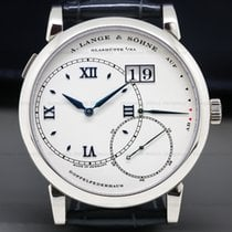 A. Lange & Söhne Grand Lange 1 White gold 41.9mm Silver Roman numerals United States of America, Massachusetts, Boston