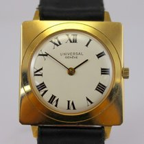Universal Genève Yellow gold 35mm Manual winding pre-owned United States of America, Massachusetts, West Boylston