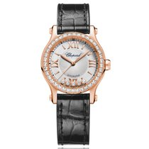 Chopard Red gold Automatic Silver 30mm new Happy Sport