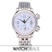 Jaeger-LeCoultre Master Compressor Lady Automatic Steel 37mm White Arabic numerals
