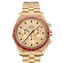 Omega 310.60.42.50.99.001 Yellow gold 2019 Speedmaster 42mm new