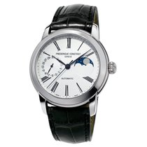 Frederique Constant Classics Moonphase Steel 42mm Silver