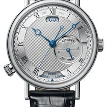 Breguet new Automatic 43mm White gold Sapphire crystal