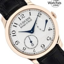 F.P.Journe Rose gold Manual winding Silver Arabic numerals 40mm new Souveraine