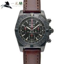 Breitling Chronomat 44 Blacksteel Stahl 44mm Schwarz