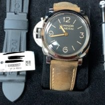 Panerai Luminor 1950 PAM 00557 Nuevo Acero 47mm Cuerda manual