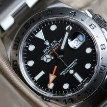 Rolex Explorer II black dial unworn