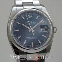 Ρολεξ (Rolex) Oyster Perpetual Datejust Bleu 116200 Carte...