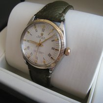 Rolex Oyster Perpetual 34 Steel 33mm White Roman numerals
