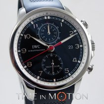 IWC Portuguese Yacht Club Chronograph Acier 45.5mm Noir France, Paris