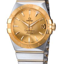 Omega Constellation Co-Axial 38mm Steel/Gold 123.20.38.21.08.001