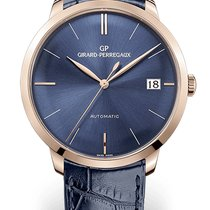 Girard Perregaux Rose gold Automatic Blue new 1966