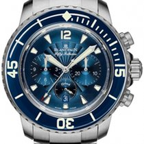 Blancpain Fifty Fathoms New Steel 45mm Automatic
