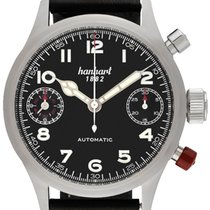 Hanhart Steel 45,00mm Automatic 730.210-0010 new