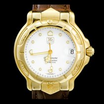 TAG Heuer 6000 Yellow gold 34mm White No numerals